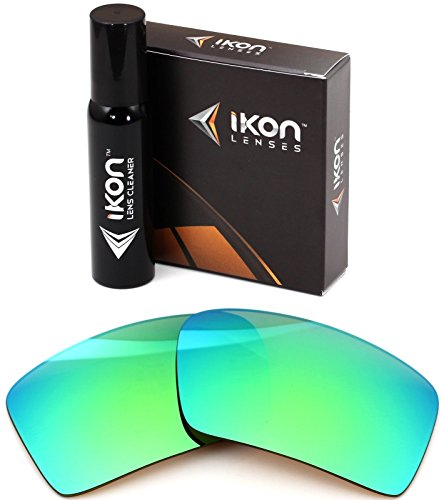 Polarized Ikon Iridium Replacement Lenses For Oakley Eyepatch 2 Sunglasses - Emerald Green - Lens Green Iridium Oakley