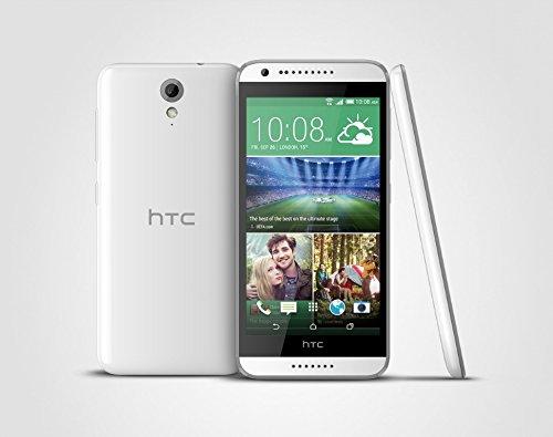 bolsa del cinturón / funda para HTC Desire 620, negro + Auriculares | caja del teléfono cubierta protectora bolso - K-S-Trade (TM)