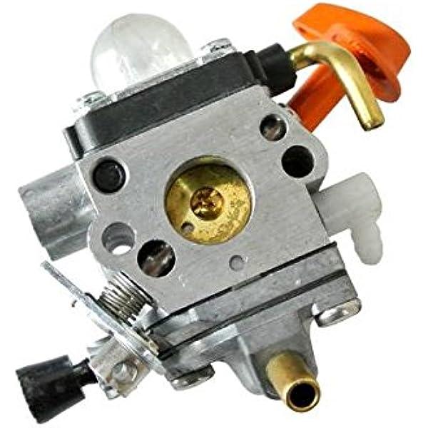 Carburador JRL para desbrozadora Stihl (41801200611) FS87, FS90, FS100, FS110, HT100, HL100, FC90; Rep ZAMA C1Q-S173/4: Amazon.es: Jardín