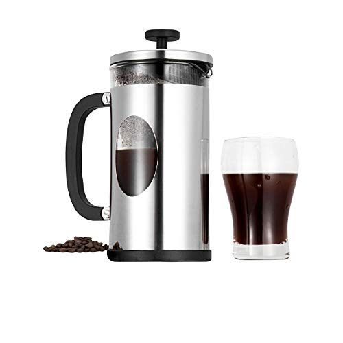 French Press Coffee Maker, Glass Coffee French Press Tea Maker Coffee Pot,...