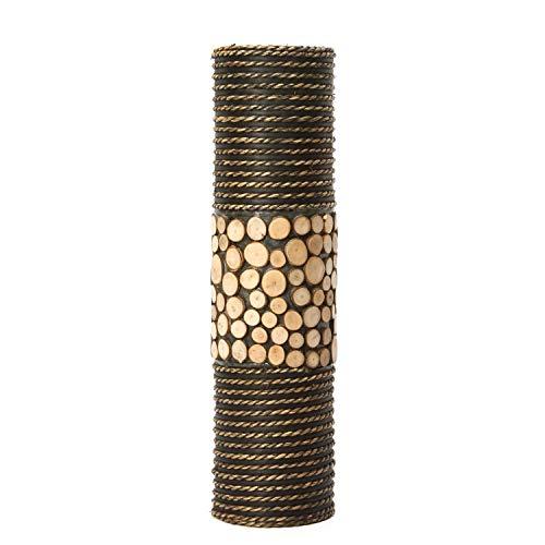 (Hosley's Natural Cylinder Tall Floor Vase 20