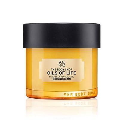 Los Aceites Body Shop de la Vida Intensivo Revit alisi erende Dormir Crema 80 ml con