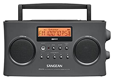 Sangean FM-Stereo RDS (RBDS) / AM Digital Tuning Portable Receiver by Sangean America, Inc