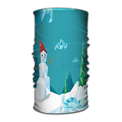 (Xunulyn Comfy Face Bandana Mask Breathable Headwrap Nice Christmas Diamond Stylized Concept Horizontal ep)