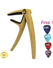 Sound harbor HY-2 Guitar Capo - Musicians Recommended Capo for Acoustic Electric or Guitar - Perfect for Banjo and Ukulele (set of 1)