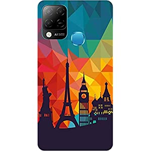 BuyFeb Back Cover Case Compatible for Infinix Hot 10s (Silicon Soft Printed Mobile Cover) – Design170
