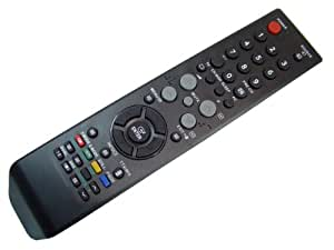 Samsung BN59-00507A - Mando a distancia (Negro, De plástico, - LE-26R71B - LE-26R72B - LE-27S71B - LE-32R72B - LE-32R75B - LE-37R72B - LE-40R72B) - PS-42E71HR)