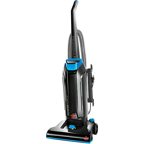 Bissell Power Effectiveness Lightweight Bagged Uprights Vacuum Cleaner- Black