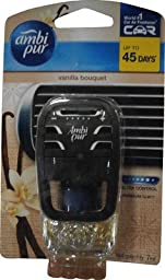 Ambi Pur Vanila Spa Air Car Air Freshener 7ml. X 1 Pcs.