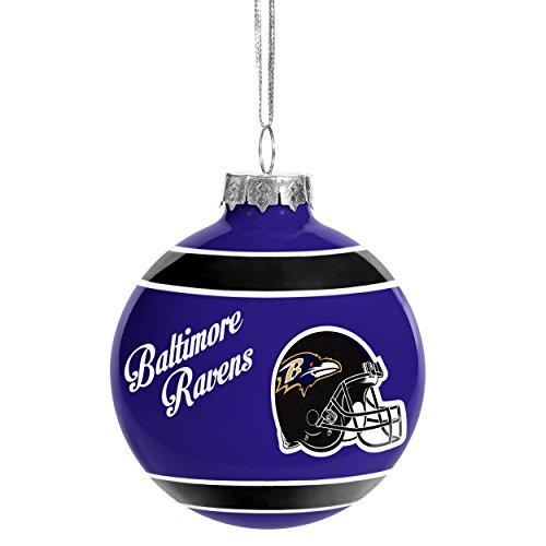 Baltimore Ravens 2016 Glass Ball Ornament