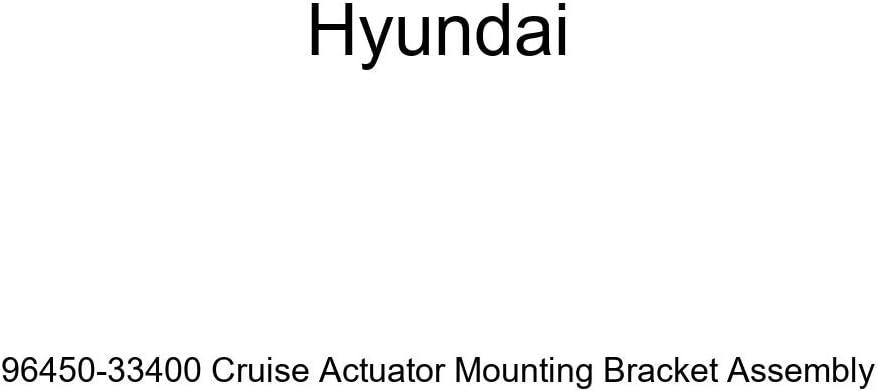 Genuine Hyundai 96450-33400 Cruise Actuator Mounting Bracket Assembly