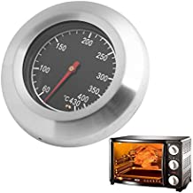 Kangnice 60-430℃ Stainless Steel BBQ Barbecue Smoker Grill Thermometer Temperature Gauge