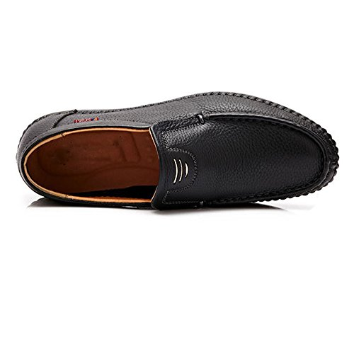 on Ruiyue Leather Loafer Shoes Perforation Men,Classic Genuine Leather Slip Loafers Optional Fashion Casual 8grq8AxnT