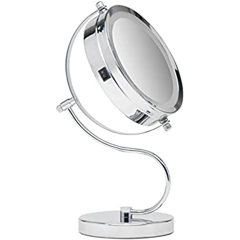 Amazon Com Simplehuman 5 Inch Sensor Mirror Lighted