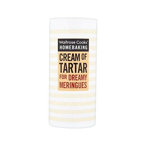 Cooks' Ingredients Cream Of Tartar Waitrose 140g - Pack of 6 by Cooks' Ingredients