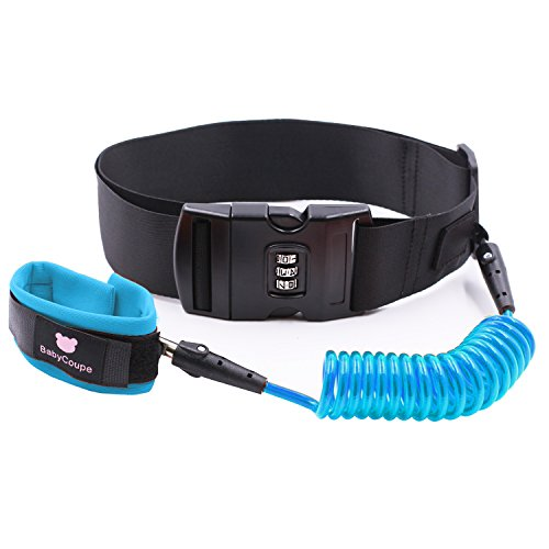 Startostar Anti Lost Belt with Coded Lock, Skin Friendly Child Safety Wrist Link 59 inches Leash for Toddles Babies & Kids by Startostar