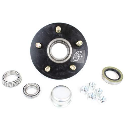 Southwest Wheel 5-Hole, 5.5'' Bolt Circle Idler Hub for 3,500 lb. Axles by Southwest Wheel