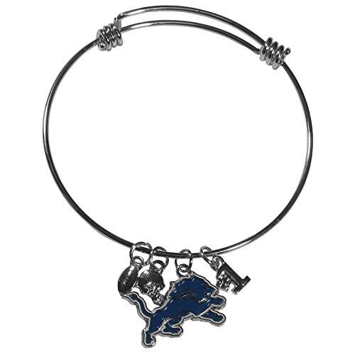 Detroit Lions Charm Bangle Bracelet product image
