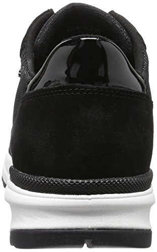 Shoes 8 B Airell Womens Black D Trainers GEOX Casual qHwBfq