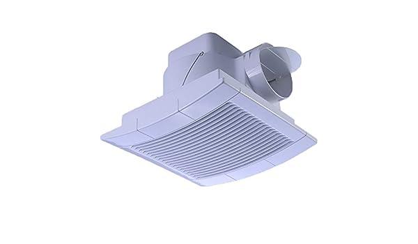 Ventilador Extractor Baño Cocina Doméstica con Motor de Cobre Puro y Protección contra Sobrecalentamiento para Baño, Aseo, Despacho, Tranquilo, Bajo Consumo de Energía 25W,98mm: Amazon.es: Deportes y aire libre