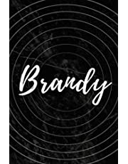 Brandy: Personalized Sketchbook with Name Brandy   Blank Writing Drawing Notebook