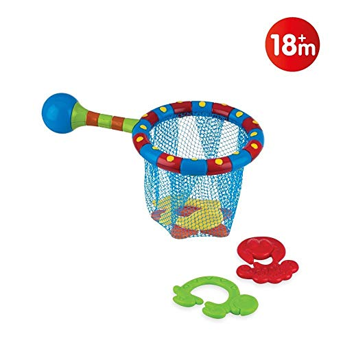 Nuby Splash n' Catch Bath Time Fishing Set, Includes Four Link Toys