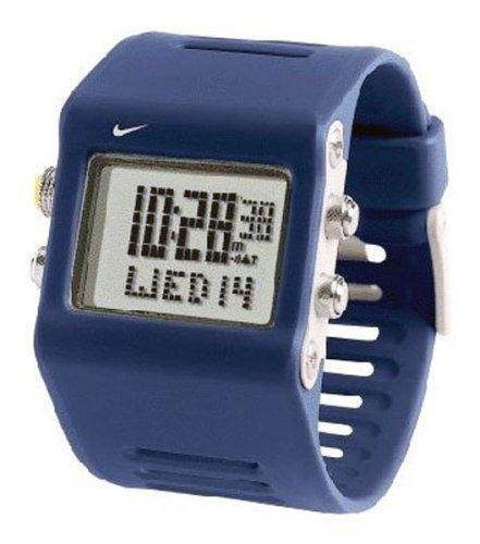Nike Reloj Hombre de Digital con Correa en Caucho WC0020401: Amazon.es: Relojes