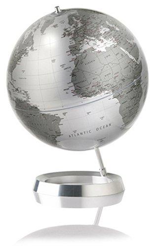 atmosphere 地球儀 Appearance (シルバーモノトーン:アルミニウムベース) B000KP2ZK8