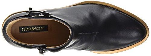 Neosens Bouvier, Zapatillas de Estar por Casa para Mujer Negro - Noir (Ebony)