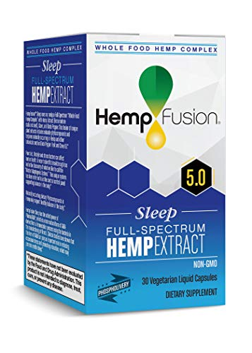 HempFusion Hemp Extract Sleep, 30 Vegetarian ()