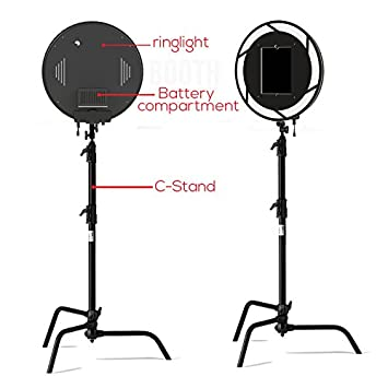 C Stand Ipad Portable Ringlight Photobooth LED SMD Indoor Outdoor Photo Booth