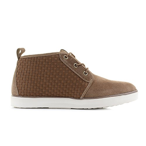 Dude Shoes Terni Brown Suede Chukka Boot Brown