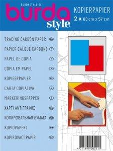 burda style Kopierpapier blau / rot 1100