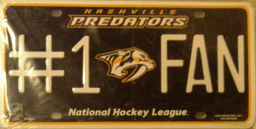 Nashville Predators License Plate Frame - 9