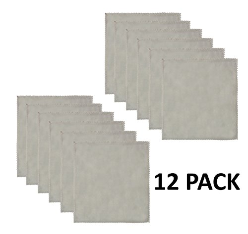 Cotton Craft - 12 Pack Oversized Flax with Lace Dinner Napkins - 20x20 Natural, 100% Flax, Tailored with Mitered Corners and a Generous Hem, Napkins are 38% Larger Than Standard Size Napkins by Cotton Craft (Image #1)