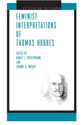Feminist Interpretations of Thomas Hobbes (Re-Reading the Canon)