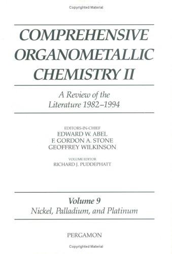 Nickel, Palladium and Platinum (Comprehensive Organometallic Chemistry II)