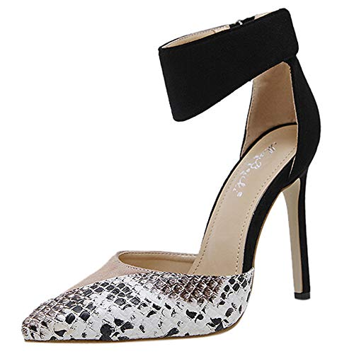 92d16240fcaf JENN ARDOR Stiletto High Heel Shoes for Women  Pointed
