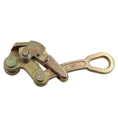 """Tyler Tool 3/32"""" - 5/8"""" Wire Rope & Cable Grip, 1 Ton Capacity"""