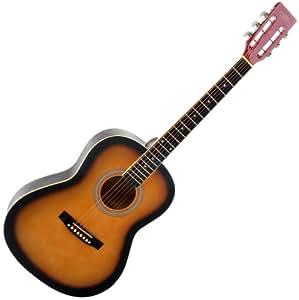 Classic Cantabile WS-1 Western Series - Guitarra acústica (madera), color caoba