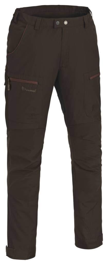 Pinewood Caribou TC Pants Men Suede Braun/Dark Copper 2018 Hose lang