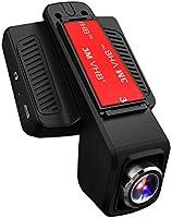 TOGUARD Caméra de Voiture WiFi Caméra Embarquée Full HD 1080P, Objectif Réglable à Grand Angle de 170 Degrés, Dashcam...