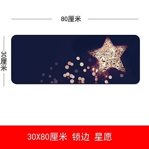 E-Sports マウスパッド キュート オーバーサイズ インゲーム ローズレッド 3080 スターウィッシュ 300x700x3mm B07LGR5NNR