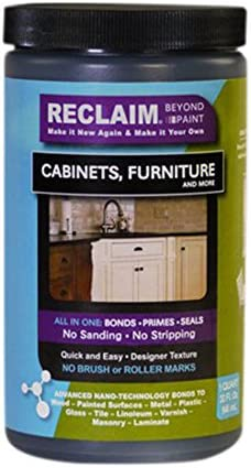Reclaim Paint Quart Color Licorice Cabinet Or Furniture Paint Now You Can Reclaim Almost Any Surface With This Combination Primer Finish Sealer Formula That Cures To A Durable Washable Surface In Just One