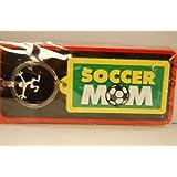 Key Ring Soccer Mom