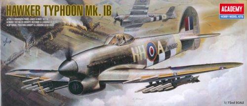 Academy 1:48 - Hawker Typhoon Ib (Replaces Aca01664) - Aca12462 B0006O304S