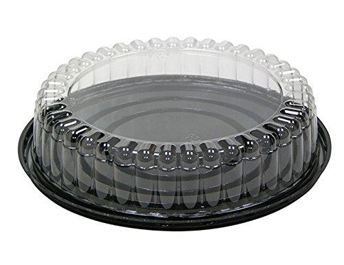Pactiv 9B20Pet aus Kuppel und Basis für 17,8cm Kuchen, 22,9cm Durchmesser, 5,1cm Tall, transparent (100Stück)