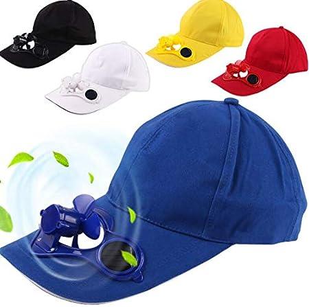 Gorra de béisbol con Ventilador de Aire de energía Solar de la Marca Tunya; Gorro de enfriamiento para el Aire Libre para Golf, béisbol, Deporte, Gorra, Azul (Azul) - 15314605372: Amazon.es: Equipaje