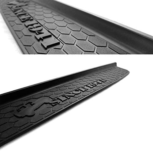 XBEEK Door Sill Guards for Jeep JL//JLU 2018 2019 Jeep Wrangler Black Entry Guards with Since 1941 Logo 2 Door