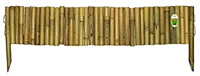 Bamboo Border Edging, 14 inch high by 40 inches long